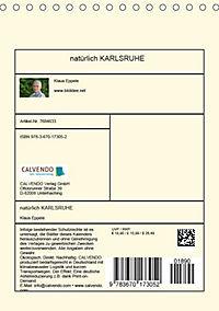 natürlich Karlsruhe (Tischkalender 2019 DIN A5 hoch) - Produktdetailbild 13