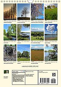 natürlich Karlsruhe (Wandkalender 2019 DIN A4 hoch) - Produktdetailbild 13