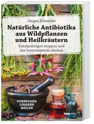 Natürliche Antibiotika aus Wildpflanzen und Heilkräutern - Jürgen Schneider |