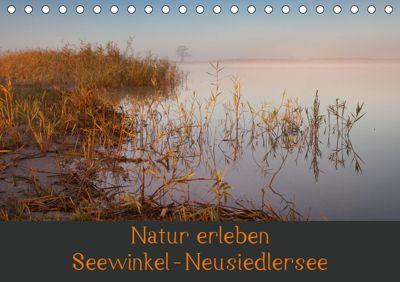 Natur erleben Seewinkel-Neusiedlersee (Tischkalender 2019 DIN A5 quer), Johann Schörkhuber