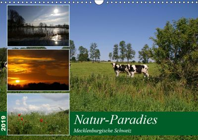 Natur-Paradies Mecklenburgische Schweiz (Wandkalender 2019 DIN A3 quer), Antonia Katharina Tessnow