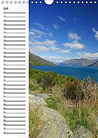 Natur pur in Neuseeland (Wandkalender immerwährend DIN A4 hoch) - Produktdetailbild 7
