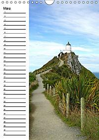 Natur pur in Neuseeland (Wandkalender immerwährend DIN A4 hoch) - Produktdetailbild 3