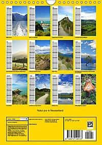 Natur pur in Neuseeland (Wandkalender immerwährend DIN A4 hoch) - Produktdetailbild 13