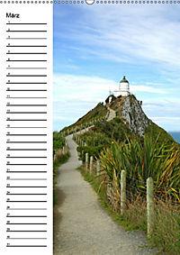 Natur pur in Neuseeland (Wandkalender immerwährend DIN A2 hoch) - Produktdetailbild 3