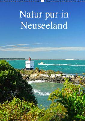 Natur pur in Neuseeland (Wandkalender immerwährend DIN A2 hoch), Beate Bussenius