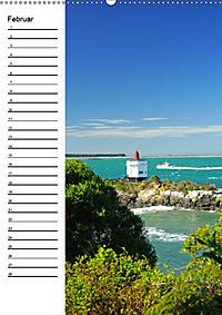 Natur pur in Neuseeland (Wandkalender immerwährend DIN A2 hoch) - Produktdetailbild 2