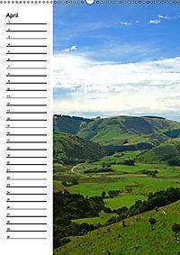 Natur pur in Neuseeland (Wandkalender immerwährend DIN A2 hoch) - Produktdetailbild 4