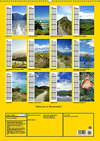 Natur pur in Neuseeland (Wandkalender immerwährend DIN A2 hoch) - Produktdetailbild 13