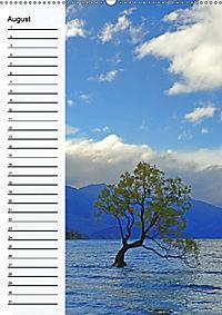 Natur pur in Neuseeland (Wandkalender immerwährend DIN A2 hoch) - Produktdetailbild 8