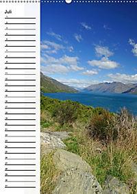 Natur pur in Neuseeland (Wandkalender immerwährend DIN A2 hoch) - Produktdetailbild 7