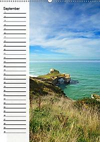 Natur pur in Neuseeland (Wandkalender immerwährend DIN A2 hoch) - Produktdetailbild 9