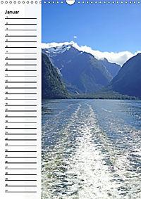 Natur pur in Neuseeland (Wandkalender immerwährend DIN A3 hoch) - Produktdetailbild 1