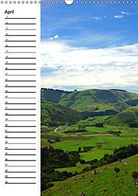 Natur pur in Neuseeland (Wandkalender immerwährend DIN A3 hoch) - Produktdetailbild 4