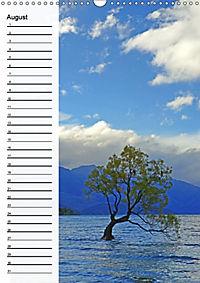 Natur pur in Neuseeland (Wandkalender immerwährend DIN A3 hoch) - Produktdetailbild 8
