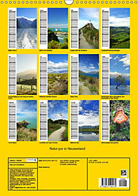 Natur pur in Neuseeland (Wandkalender immerwährend DIN A3 hoch) - Produktdetailbild 13