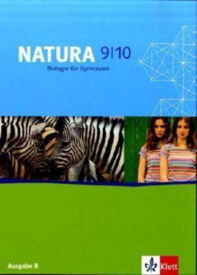 Natura, Biologie für Gymnasien, Ausgabe B für Berlin: 9./10. Schuljahr, Schülerbuch