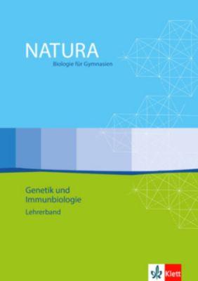 Natura, Biologie für Gymnasien, Themenhefte S II: Genetik und Immunbiologie, Lehrerband m. CD-ROM