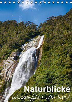 Naturblicke - Wasserfälle der Welt (Tischkalender 2019 DIN A5 hoch), Fabian Roessler