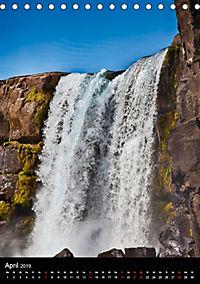 Naturblicke - Wasserfälle der Welt (Tischkalender 2019 DIN A5 hoch) - Produktdetailbild 4
