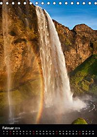 Naturblicke - Wasserfälle der Welt (Tischkalender 2019 DIN A5 hoch) - Produktdetailbild 2