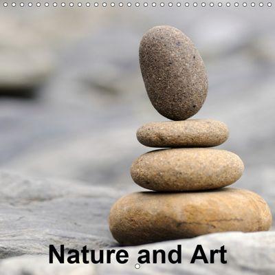Nature and Art (Wall Calendar 2019 300 × 300 mm Square), Matthias Aigner