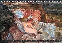 Nature as Art - Tongruben von oben (Tischkalender 2019 DIN A5 quer) - Produktdetailbild 1