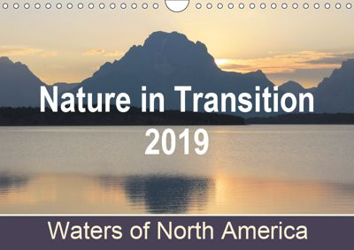 Nature in Transition 2019, Waters of North America / UK-Version (Wall Calendar 2019 DIN A4 Landscape), Renée Nass