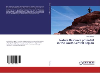 Nature Resource potential in the South Central Region, Petar Marinov