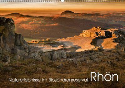 Naturerlebnis im Biosphärenreservat Rhön (Wandkalender 2019 DIN A2 quer), Manfred Hempe