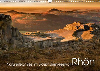 Naturerlebnis im Biosphärenreservat Rhön (Wandkalender 2019 DIN A3 quer), Manfred Hempe