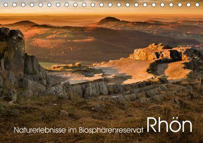 Naturerlebnis im Biosphärenreservat Rhön (Tischkalender 2019 DIN A5 quer), Manfred Hempe