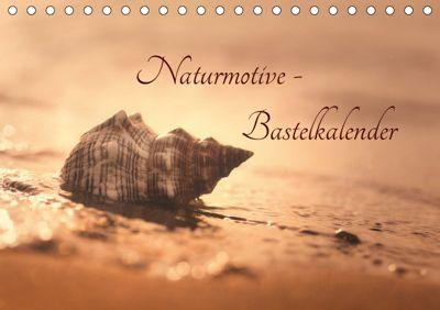 Naturmotive - Bastelkalender (Tischkalender 2019 DIN A5 quer), Tanja Riedel