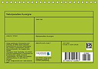 Naturparadies Auvergne (Tischkalender 2019 DIN A5 quer) - Produktdetailbild 13