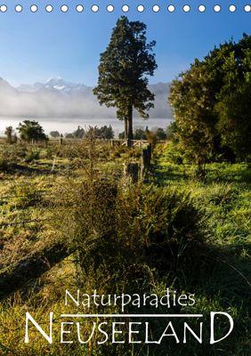 Naturparadies Neuseeland (Tischkalender 2019 DIN A5 hoch), Werner Moller