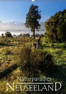 Naturparadies Neuseeland (Wandkalender 2019 DIN A2 hoch), Werner Moller