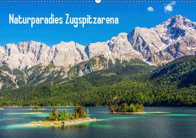 Naturparadies Zugspitzarena (Wandkalender 2019 DIN A2 quer), Sascha Ferrari