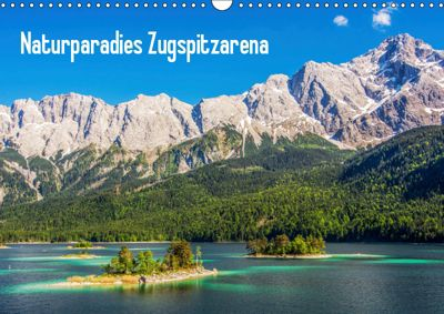 Naturparadies Zugspitzarena (Wandkalender 2019 DIN A3 quer), Sascha Ferrari