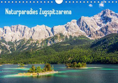 Naturparadies Zugspitzarena (Wandkalender 2019 DIN A4 quer), Sascha Ferrari