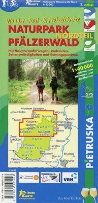 Naturpark Pfälzerwald, Nordteil, Wander-, Rad- und Freizeitkarte