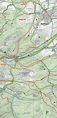 Naturpark Pfälzerwald, Nordteil, Wander-, Rad- und Freizeitkarte - Produktdetailbild 1