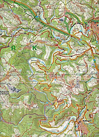 Naturpark Rhein-Westerwald  Blatt 1 (West) 1 : 25 000 - Produktdetailbild 2