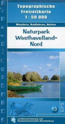 Naturpark Westhavelland Nord 1 : 50 000