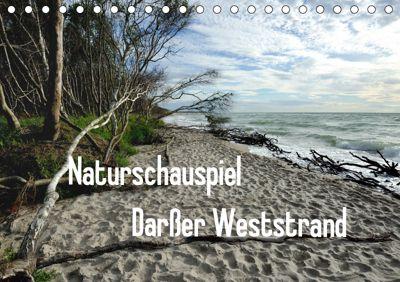 Naturschauspiel Darsser Weststrand (Tischkalender 2019 DIN A5 quer), Friedrich Pries