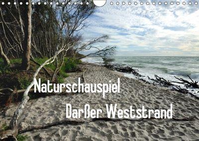 Naturschauspiel Darßer Weststrand (Wandkalender 2019 DIN A4 quer), Friedrich Pries