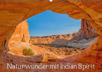Naturwunder mit Indian Spirit (Wandkalender 2019 DIN A2 quer), Rudolf Wegmann