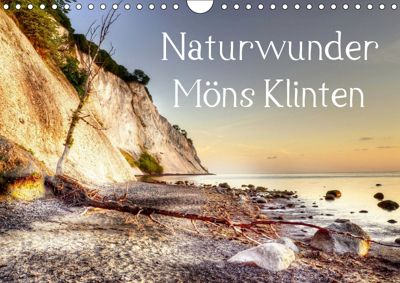Naturwunder Möns Klinten (Wandkalender 2019 DIN A4 quer), Kordula Vahle, Kordula - Uwe Vahle