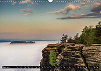 Nebelwelten Sächsische Schweiz (Wandkalender 2019 DIN A3 quer) - Produktdetailbild 4