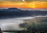 Nebelwelten Sächsische Schweiz (Wandkalender 2019 DIN A3 quer) - Produktdetailbild 3