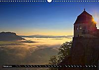Nebelwelten Sächsische Schweiz (Wandkalender 2019 DIN A3 quer) - Produktdetailbild 2
